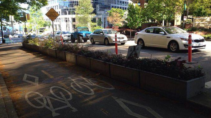 Велосипедные дорожки в Ванкувере