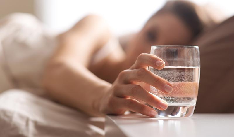 5 бьюти-правил. Стакан воды перед едой