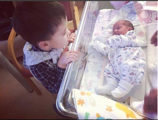 Павел Прилучный второй раз стал отцом