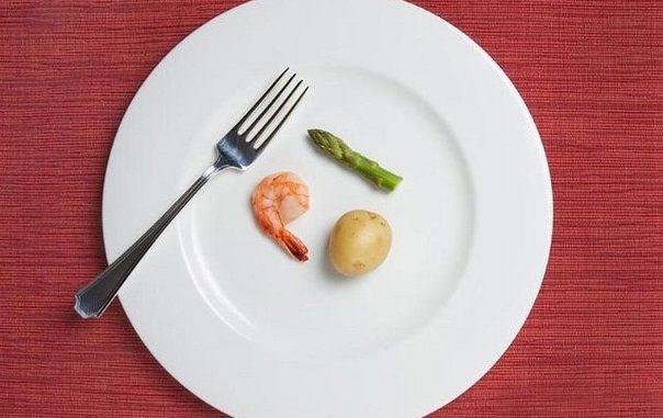 Стандартные способы похудеть. Меньше кушать
