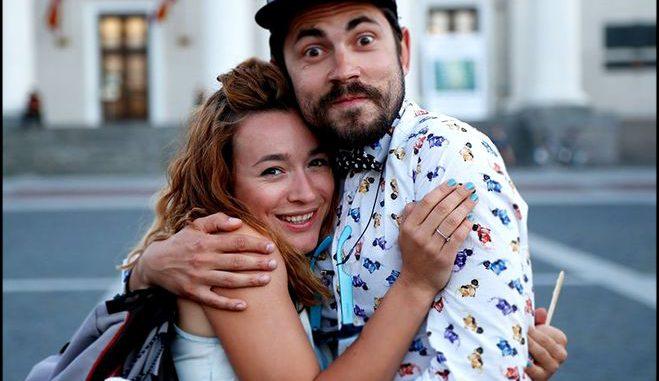 Настя Короткая и Андрей Бедняков