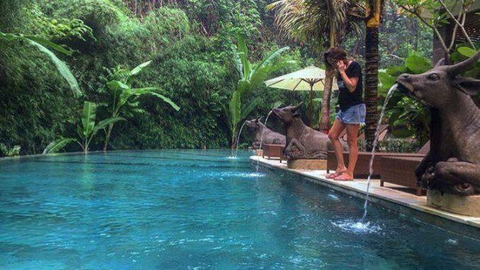 Жанна Бадовева отдыхает на Бали