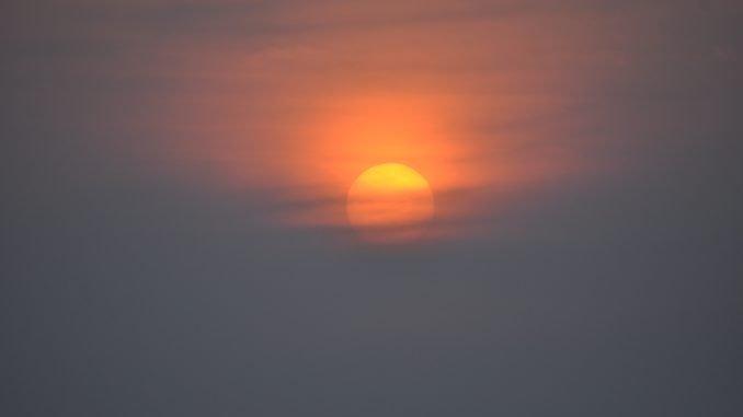 Закат в ГОА Индия