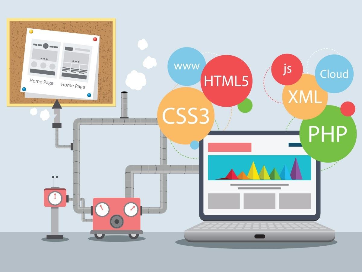 Выбор дизайна при создании сайта