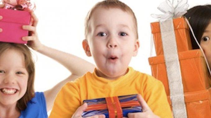 Лучшие подарки детям от 1 года до 6 лет