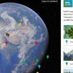 Сервис Google Earth добавил новые возможности