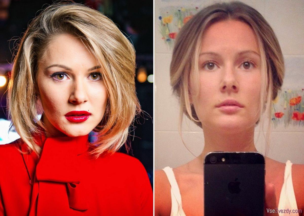 Российские певицы без макияжа фото