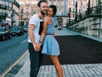 Регина Тодоренко с парнем