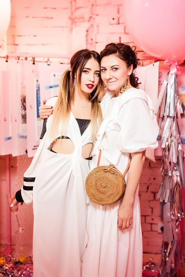 Лера Бородина и Надя Дорофеева