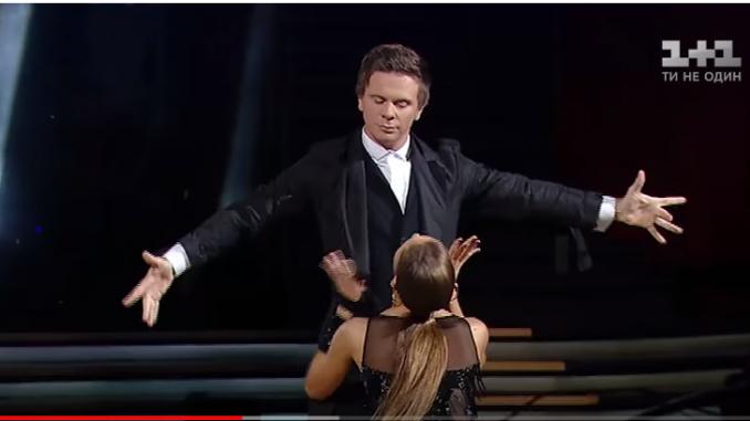 Дима Комаров танцы со звездами