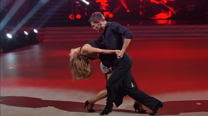 Наталья Могилевская в Танцах со звездами