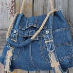 Как сделать сумку из своими руками из старых джинсов