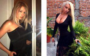 Валерия Лукьянова с внешностью Барби