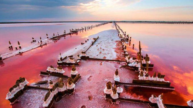 Красивые места Украины. Мертвое море
