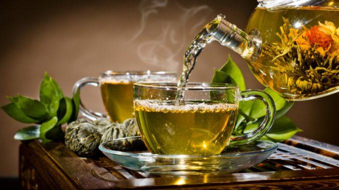 Зеленый чай. Полезные свойства