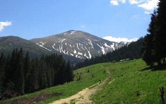 Красивые места Украины. Гора Говерла