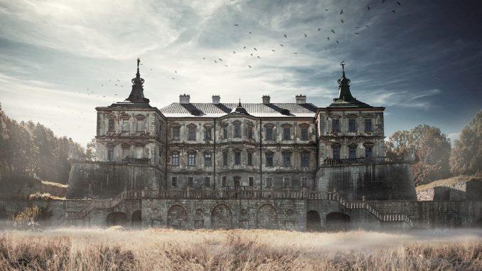 Красивые места Украины. Подгорецкий замок