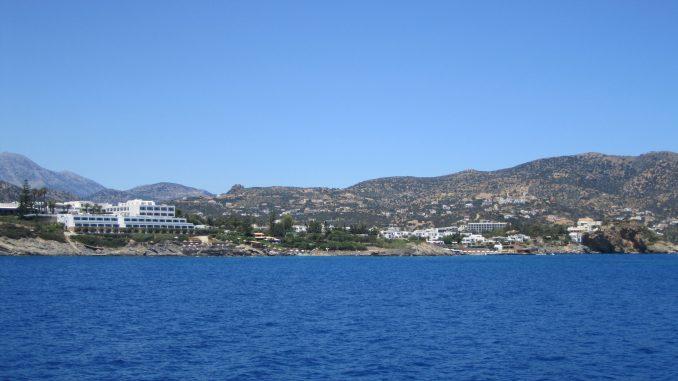 вид на острове Крит