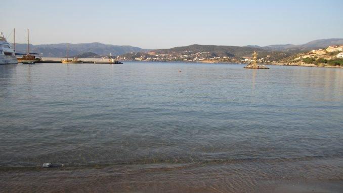 Егейское море омывает о.крит