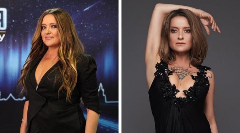 Наталья Могилевская до и после похудения