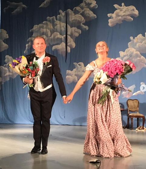 Выступление в театре Юрия Горбунова