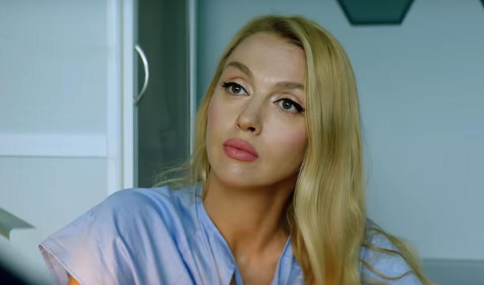 """Полякова в фильме """"Я, ты, он, она"""""""