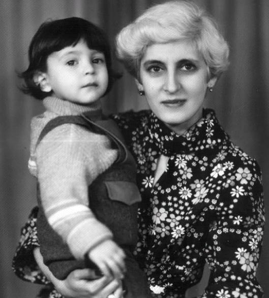 Владимир Зеленский и его мама