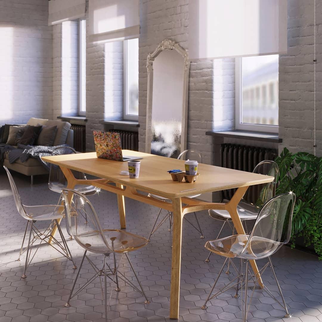 Мебель из фанеры ➤ преимущества