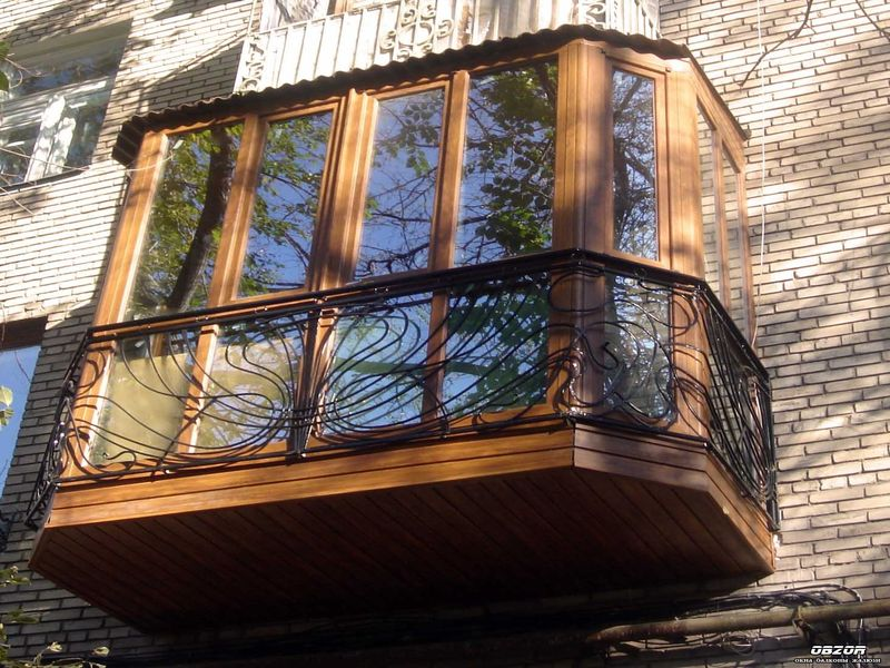 Особенности французских балконов
