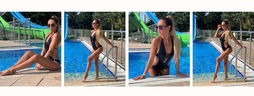 Ольга Бузова в купальнике