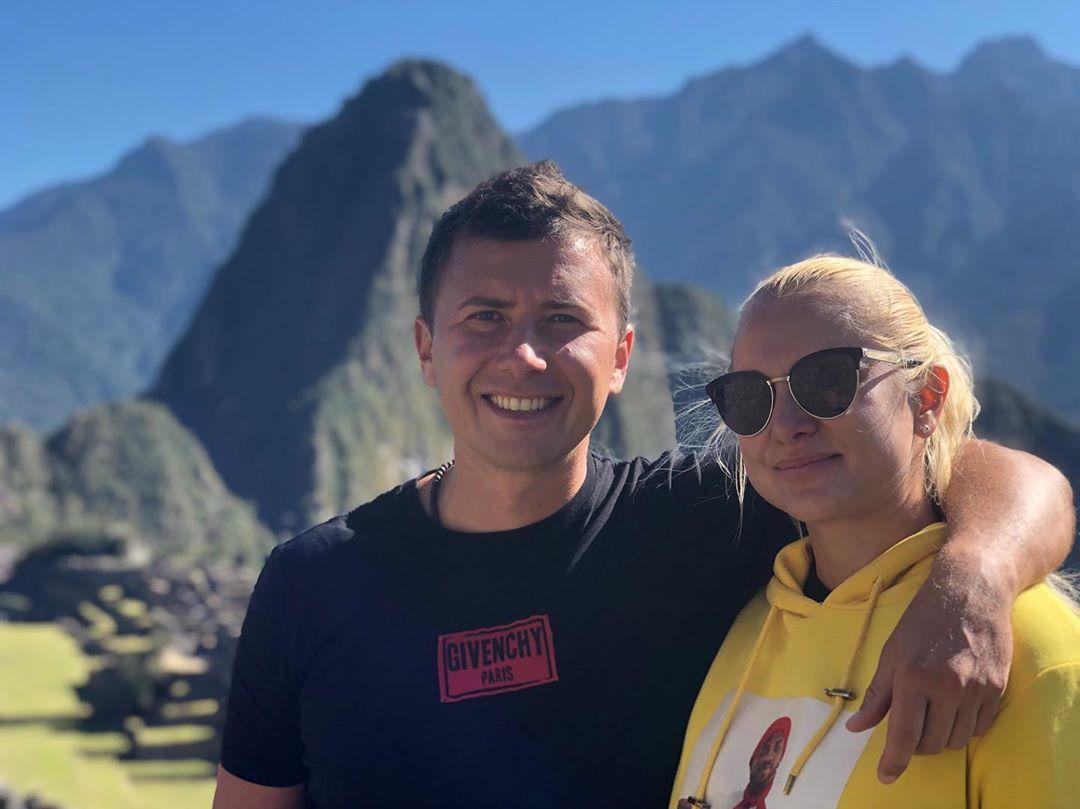 Андрей Буренок снимает сюжет в Перу про Мачу-Пикчу