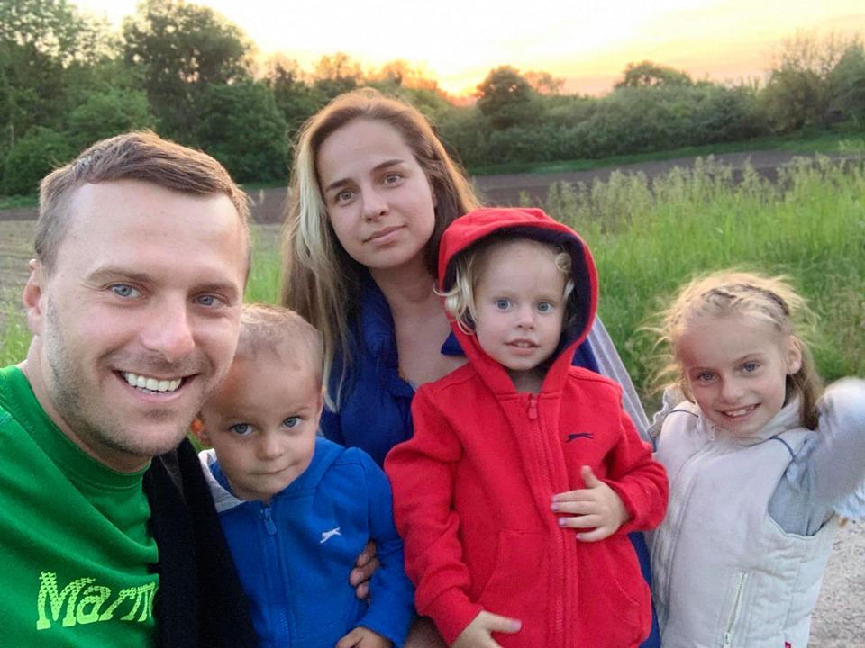 Жена и дети Виталия Крышеня | ТакХочу