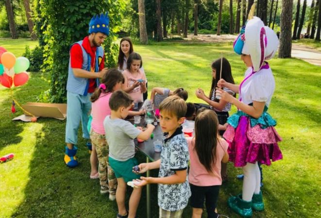 Развлечения для детей в загородном комплексе